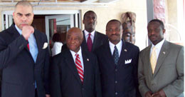 The Vice President with MMC Officials